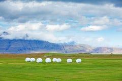 Paisagem rural islandêsa. Foto de Stock