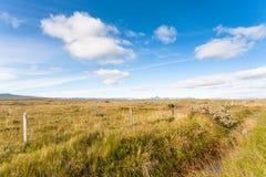 paisagem rural islandêsa ao longo de Biskupstungnabraut Fotos de Stock
