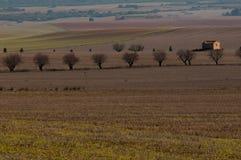 Paisagem rural típica em Múrcia fotografia de stock
