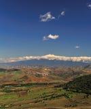 Paisagem siciliano 3 de Etna Imagens de Stock