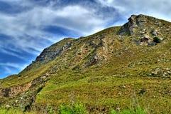 Paisagem siciliano bonita da montanha, Itália, Europa imagens de stock royalty free
