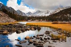 Paisagem surpreendente da montanha Imagem de Stock Royalty Free