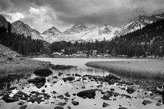Paisagem surpreendente da montanha Imagem de Stock