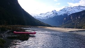 Paisagem surpreendente do lago dart Imagem de Stock