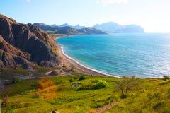 Paisagem surpreendente do Mar Negro Imagem de Stock Royalty Free