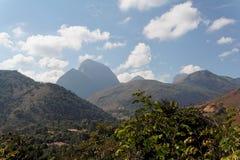 Paisagem Teresopolis das montanhas imagem de stock
