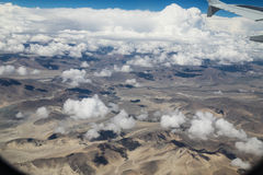 A paisagem tomada do plano em nepal Foto de Stock