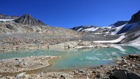 Paisagem tranquilo da montanha em Garibaldi Provincial Park imagem de stock