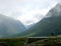 Paisagem Trollstigen de Noruega Imagem de Stock