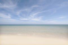 Paisagem tropical da praia Imagem de Stock Royalty Free
