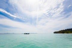 Paisagem tropical de Koh Kradan Fotografia de Stock Royalty Free