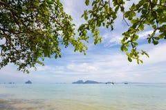 Paisagem tropical de Koh Kradan Imagem de Stock Royalty Free