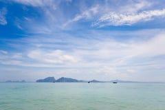 Paisagem tropical de Koh Kradan Fotos de Stock