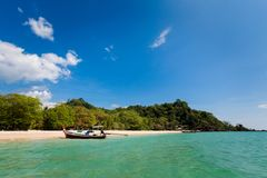 Paisagem tropical de Koh Mook Fotografia de Stock