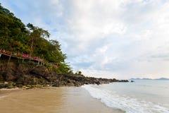 Paisagem tropical de Koh Mook Fotos de Stock Royalty Free