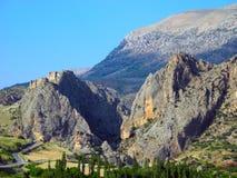 Paisagem turquia oriental da montanha Fotos de Stock Royalty Free