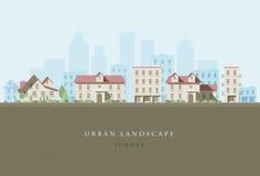 Paisagem urbana Imagem de Stock Royalty Free