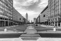 Paisagem urbana foto de stock