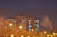 Paisagem urbana - Bucareste Fotos de Stock Royalty Free