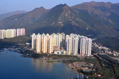 Paisagem urbana de Hong Kong Foto de Stock Royalty Free