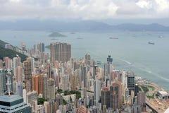 Paisagem urbana em Hong Kong Foto de Stock Royalty Free