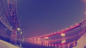 Paisagem urbana, ponte da estrada Imagens de Stock