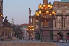 Paisagem urbana Praga, República Checa imagens de stock