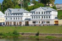Paisagem urbana, Torzhok, Rússia imagens de stock royalty free
