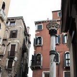 Paisagem Venetian Veneza, uma cidade bonita em cada estação, sinônima com romance, arte, cultura e história fotos de stock