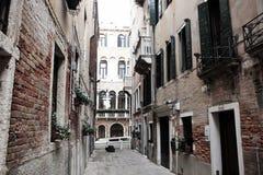 Paisagem Venetian Veneza, uma cidade bonita em cada estação, sinônima com romance, arte, cultura e história imagem de stock