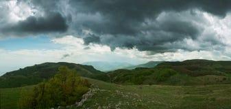 A paisagem verde Foto de Stock