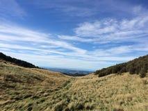 Paisagem verde & azul da baía de Hawkes Imagens de Stock Royalty Free