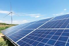 Paisagem verde da energia Foto de Stock