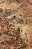 Paisagem vermelha de Tsingy com os gebos em Antsiranana, Madagáscar Imagem de Stock Royalty Free