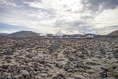 Paisagem vulcânica Fotografia de Stock