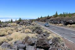 Paisagem vulcânica Fotos de Stock