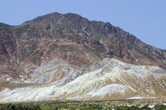 Paisagem vulcânica na ilha Nisyros, Grécia Imagens de Stock