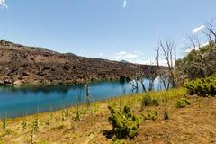 Paisagem vulcânica, Patagonia chileno, o Chile fotografia de stock royalty free