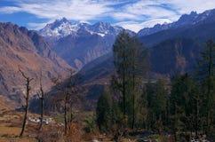 Paisagem-XXi da passagem de Kuari do inverno Fotos de Stock Royalty Free
