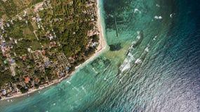 Paisagens aéreas Fotos de Stock