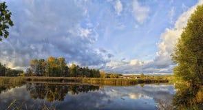 Paisagens bonitas da natureza de Bielorrússia fotografia de stock royalty free