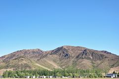 Paisagens bonitas das montanhas em Nova Zelândia Foto de Stock