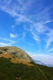 Paisagens bonitas do Apennines Imagem de Stock