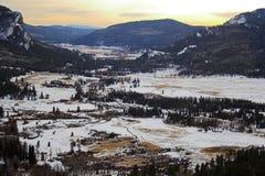 Paisagens da montanha Fotos de Stock Royalty Free