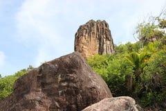 Paisagens da montanha de Seychelles Imagem de Stock Royalty Free
