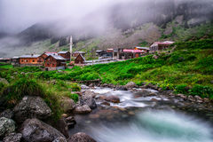 Paisagens da natureza de Turquia Foto de Stock Royalty Free