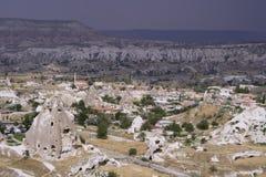Paisagens da rocha de Cappadocia Fotografia de Stock