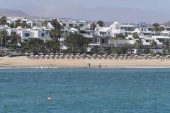 Paisagens de Lanzarote Fotografia de Stock