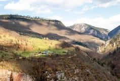 Paisagens de Montenegro fotos de stock royalty free