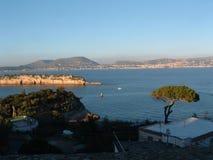 Paisagens de Nápoles foto de stock royalty free
